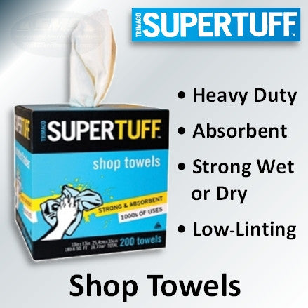 Trimaco SuperTuff Shop Towels