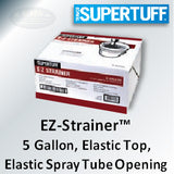 SuperTuff EZ-Strainer™, 5 Gallon, Featuring Paint Pick-Up Tube Opening, 31307ST