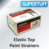SuperTuff Elastic Top Bag Paint Strainer, 1 Gal, Regular Mesh, 11511-25