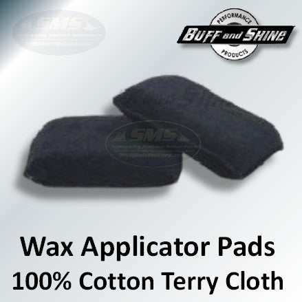 Cotton Terry Cloth Applicator Pads