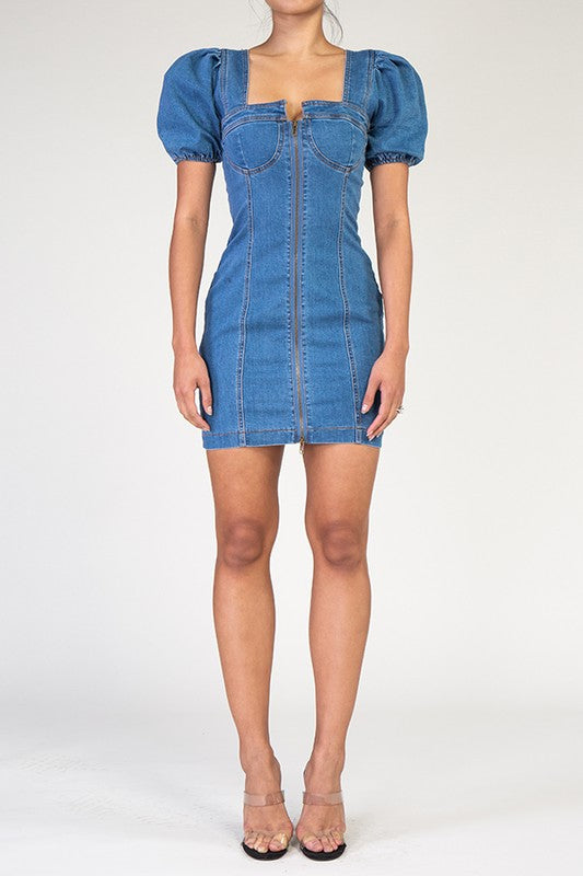 Daisy Denim Jean Dress