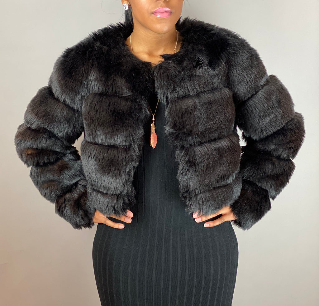 Faux Fur - Black