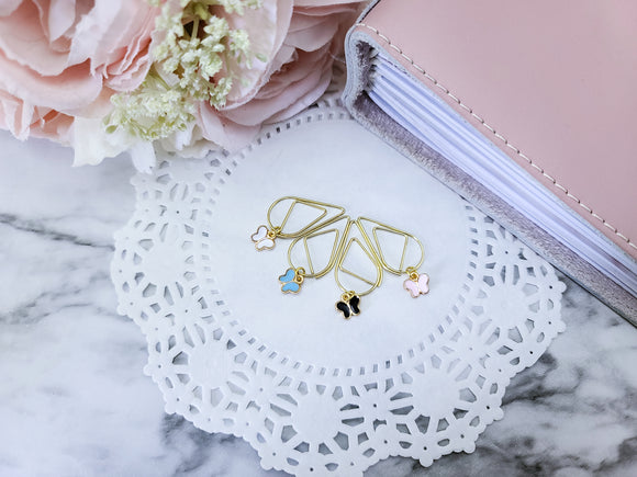 Charmed Paperclip - Dainty Butterfly