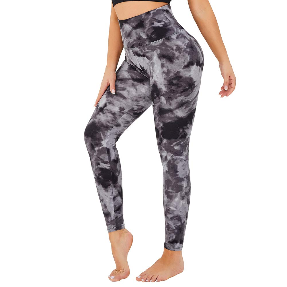 Womens High Waisted Yoga Leggings -Super Soft Full Length-2