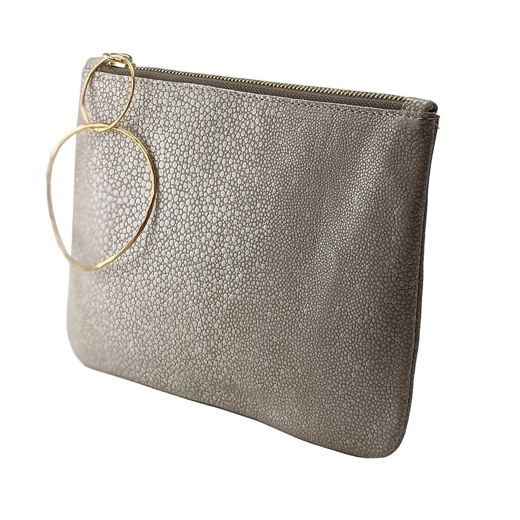 Medium Bangle Bag - Bone Stingray