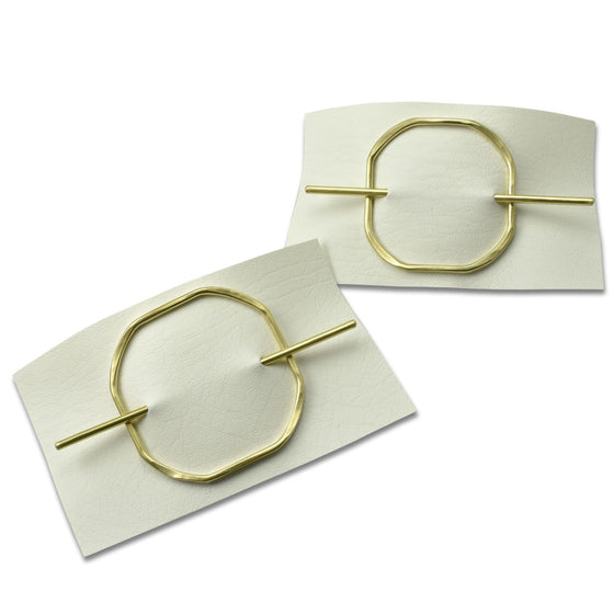 Square Hair Slides