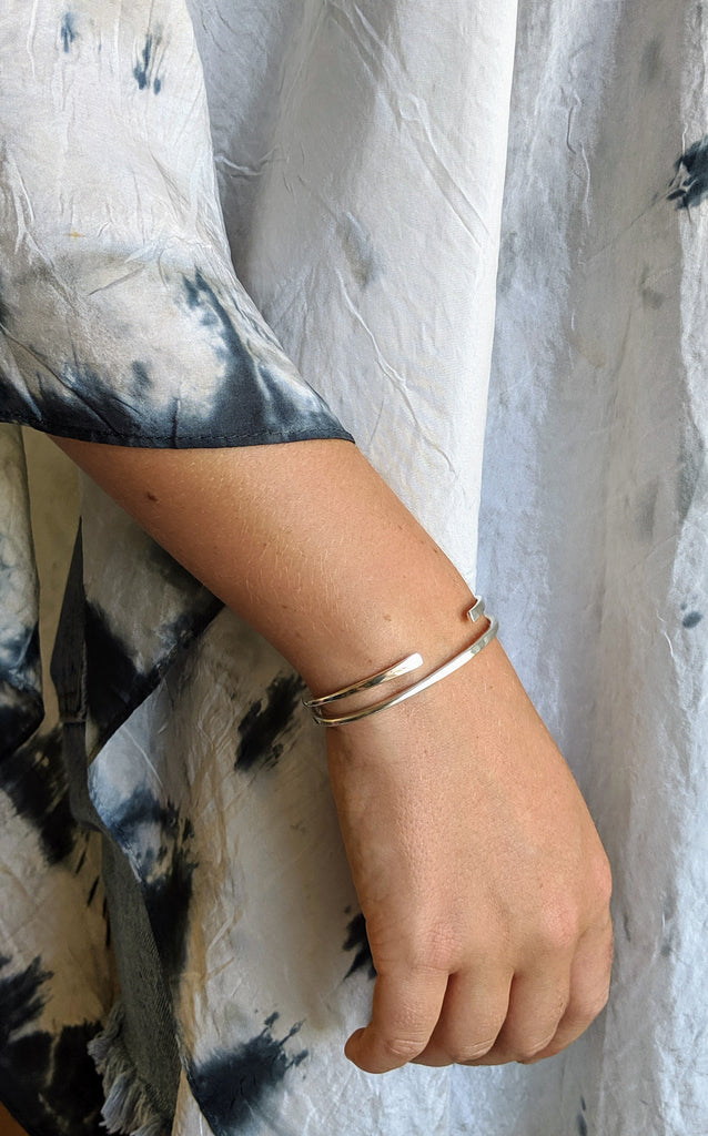 Simple Sterling Cuffs