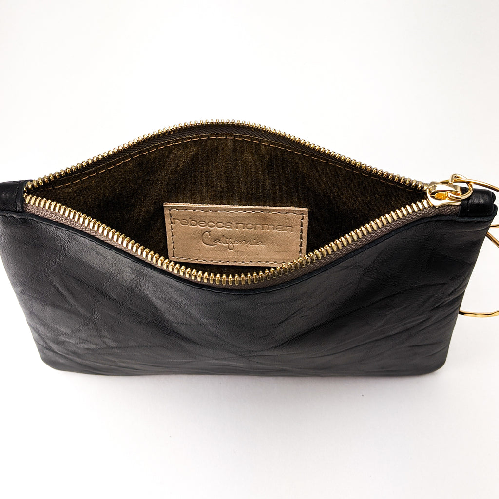 Medium Bangle Bag - Charcoal Stingray