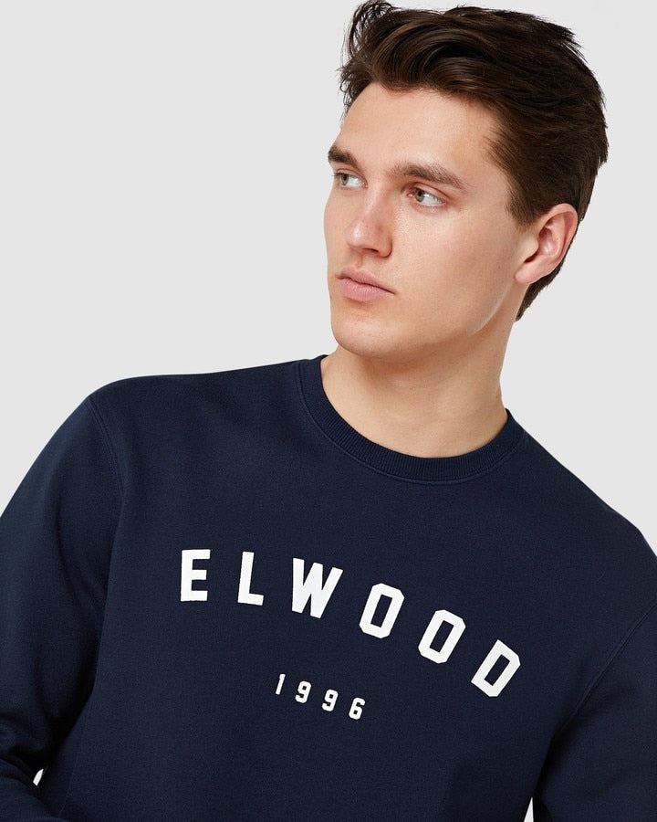Elwood Basic Crew - Dark Navy