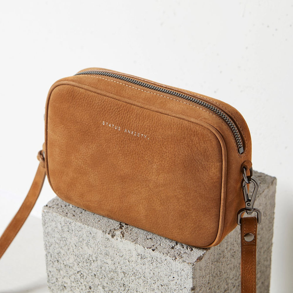 Status Anxiety Plunder Bag - Tan Nubuck