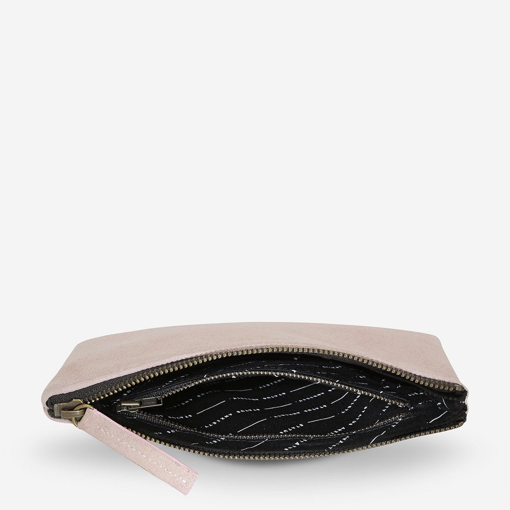 Status Anxiety Momentary Clutch - Dusty Pink