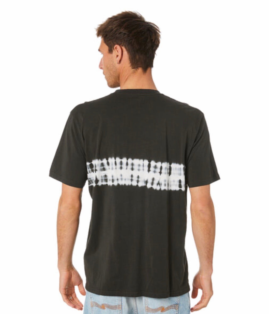 Rip Curl Grateful Dye Tee - Washed Black