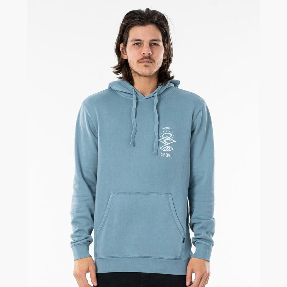Rip Curl Search Icon Hood - Mid Blue