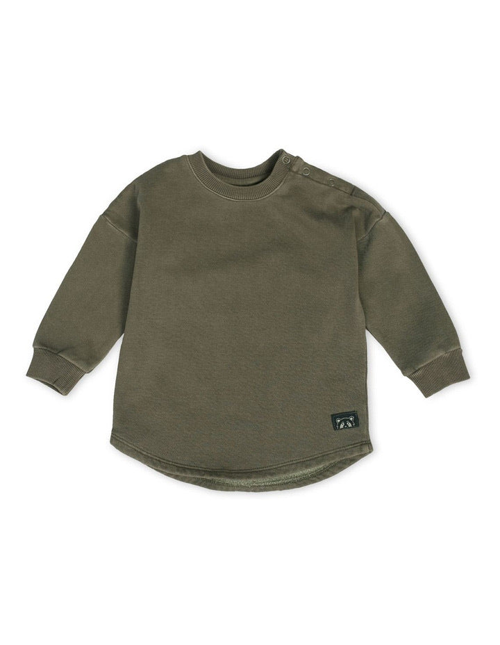 Animal Crackers Clover Crew - Khaki