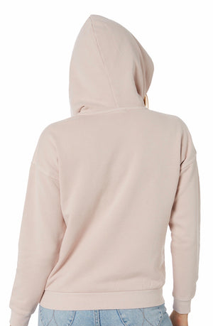 Rusty Essential Hooded Fleece Hushed - Violet