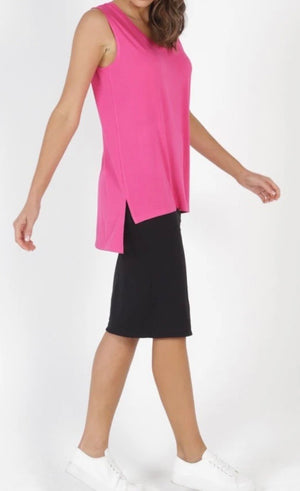Betty Basic Barbados Tank - Fuchsia