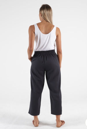 Betty Basic Parker Pant -Indi Grey