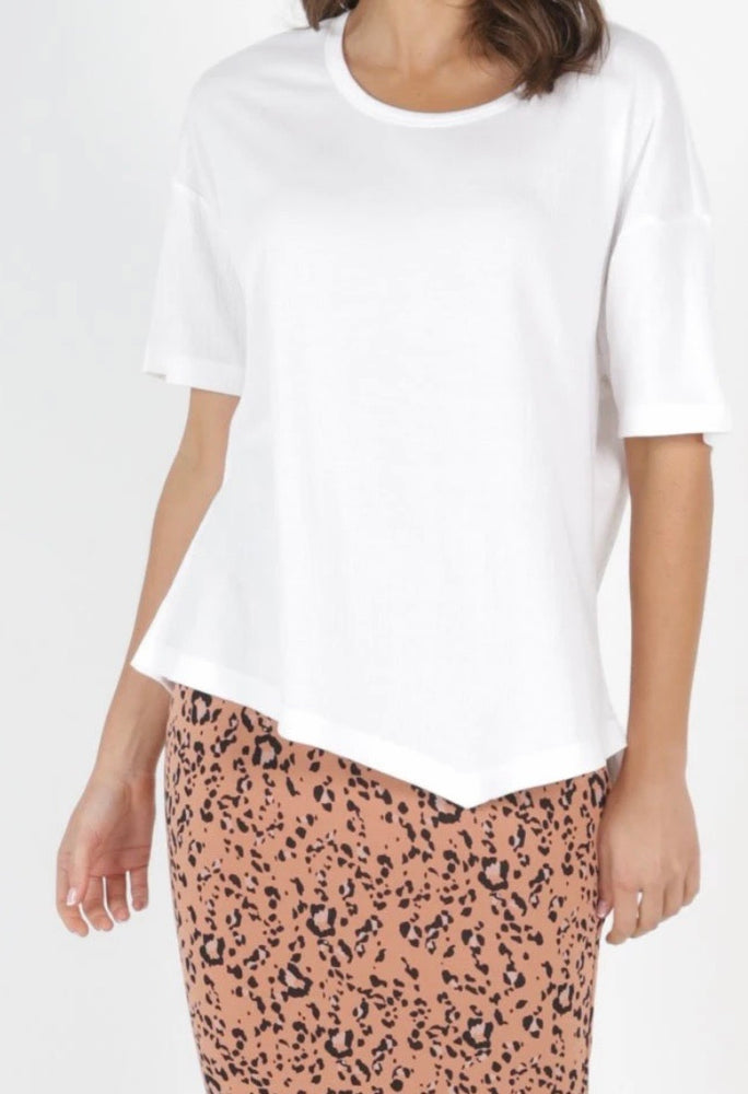 Betty Basic Sicily Top - White
