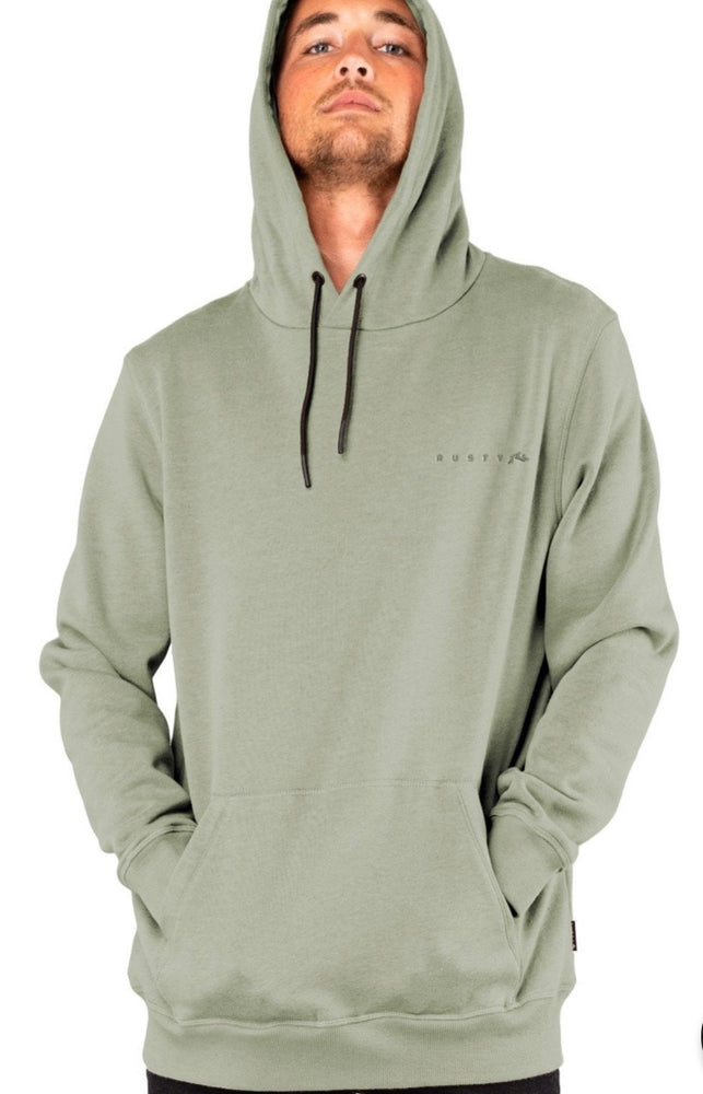 Rusty Wishy Washy Hooded Fleece - Army