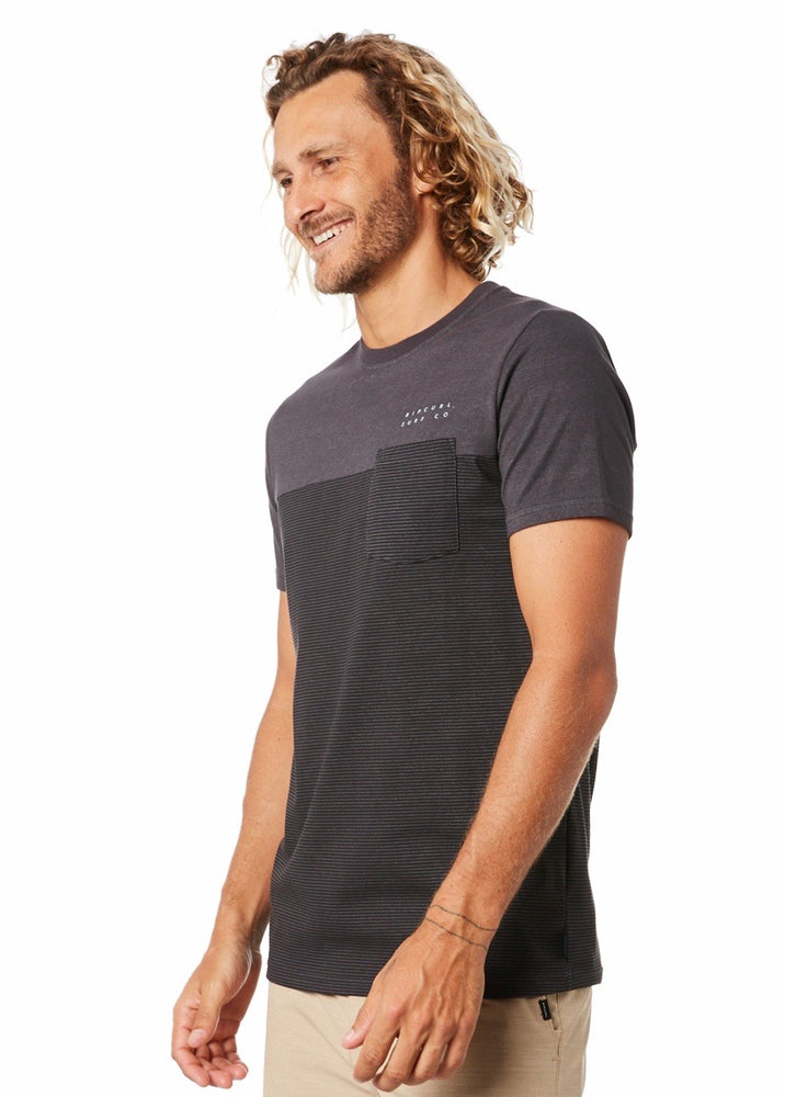 Rip Curl Constructor Tee - Black