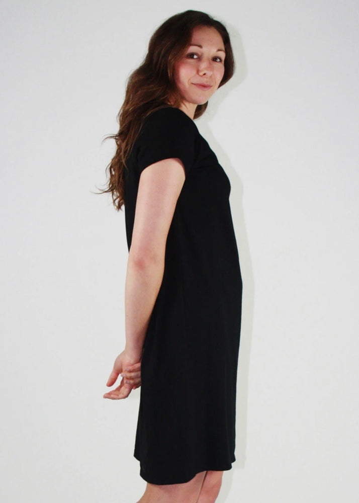 One Ten Willow Betty Dress - Black