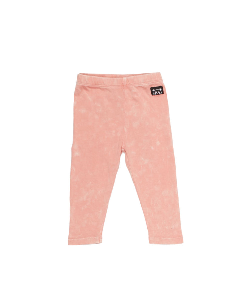 Animal Crackers Landscape Legging - Pink
