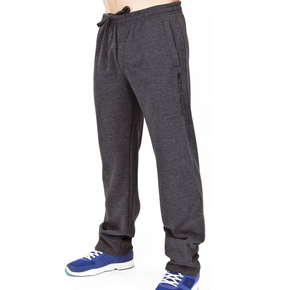 Carve Swag Large Men's Elastic Waist Track Pant - Charcoal