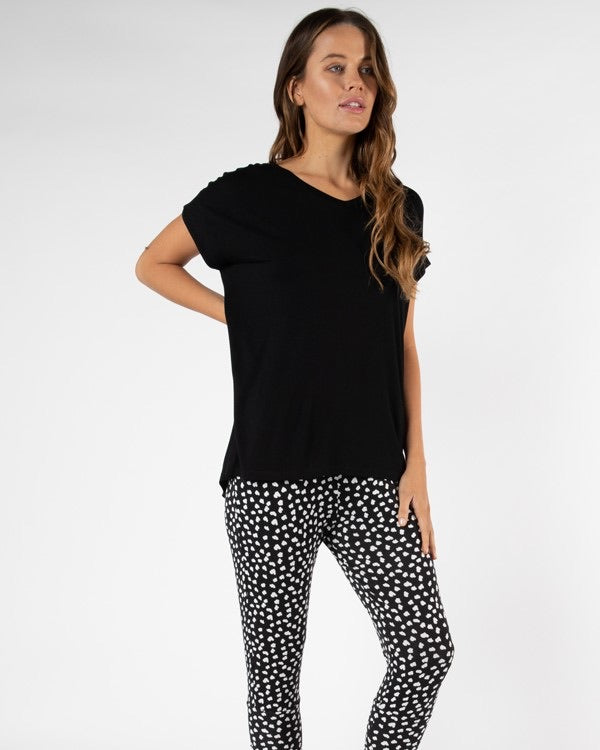 Betty basic Toledo Tee - Black