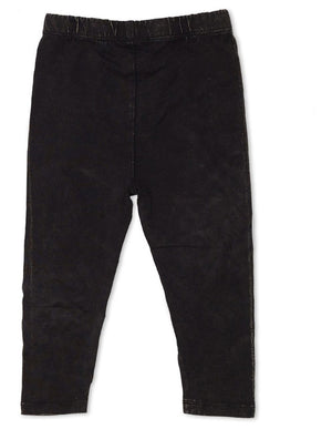 Animal Crackers Faded Legging - Black