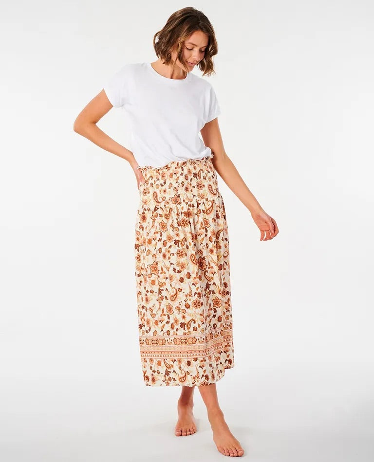 Rip Curl Desert Dawn Skirt - Cream