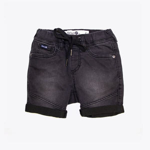 Riders jnr by Lee #Boys Denim Jogger Short - Nero