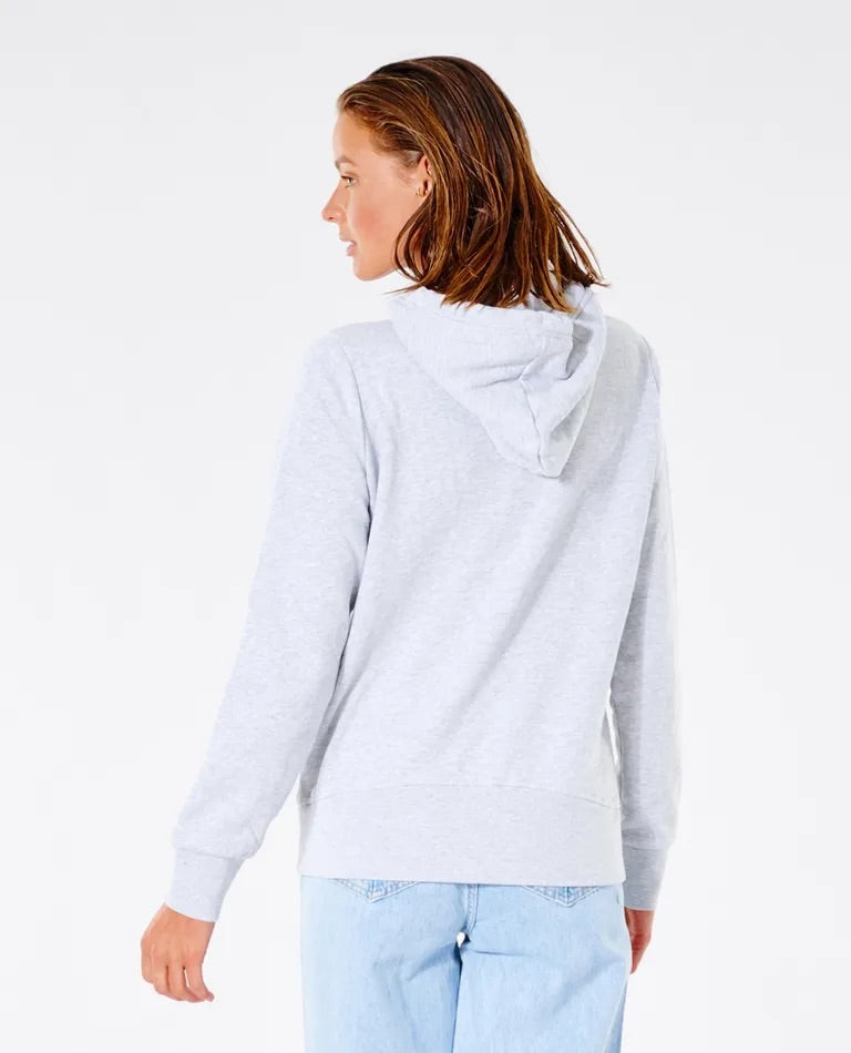 Rip Curl Classic Shore Hoodie - Light Grey Heather
