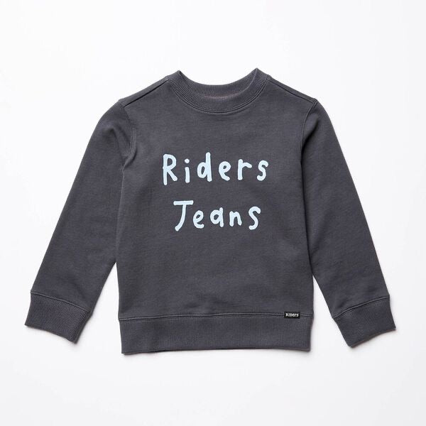 Riders By Lee Kids The Crew Sweat - Graphite