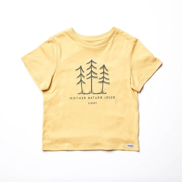 Riders By Lee Kids The Classic Tee - Yellow Fade