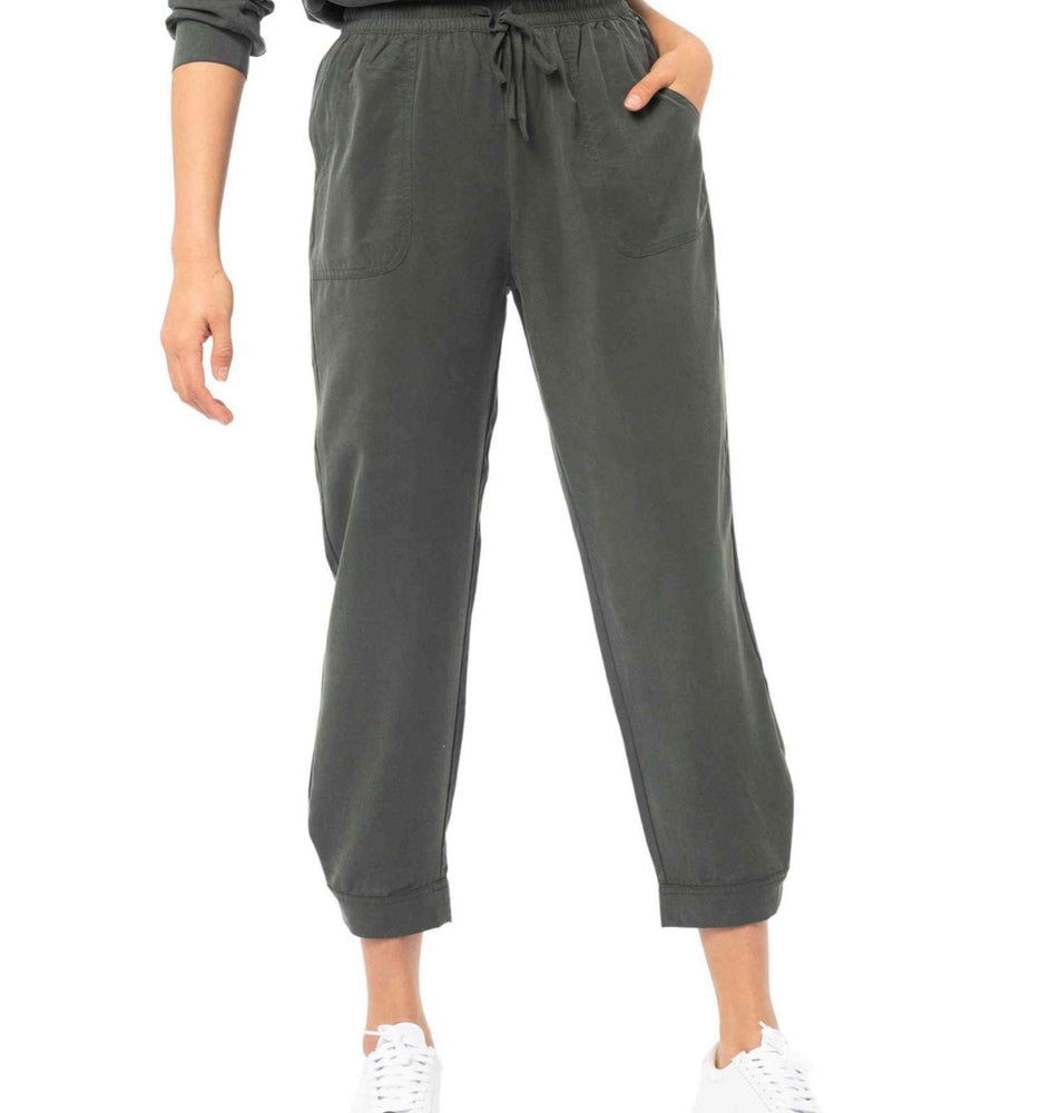 Rusty Bounds Slouchy Pant - Dark Olive