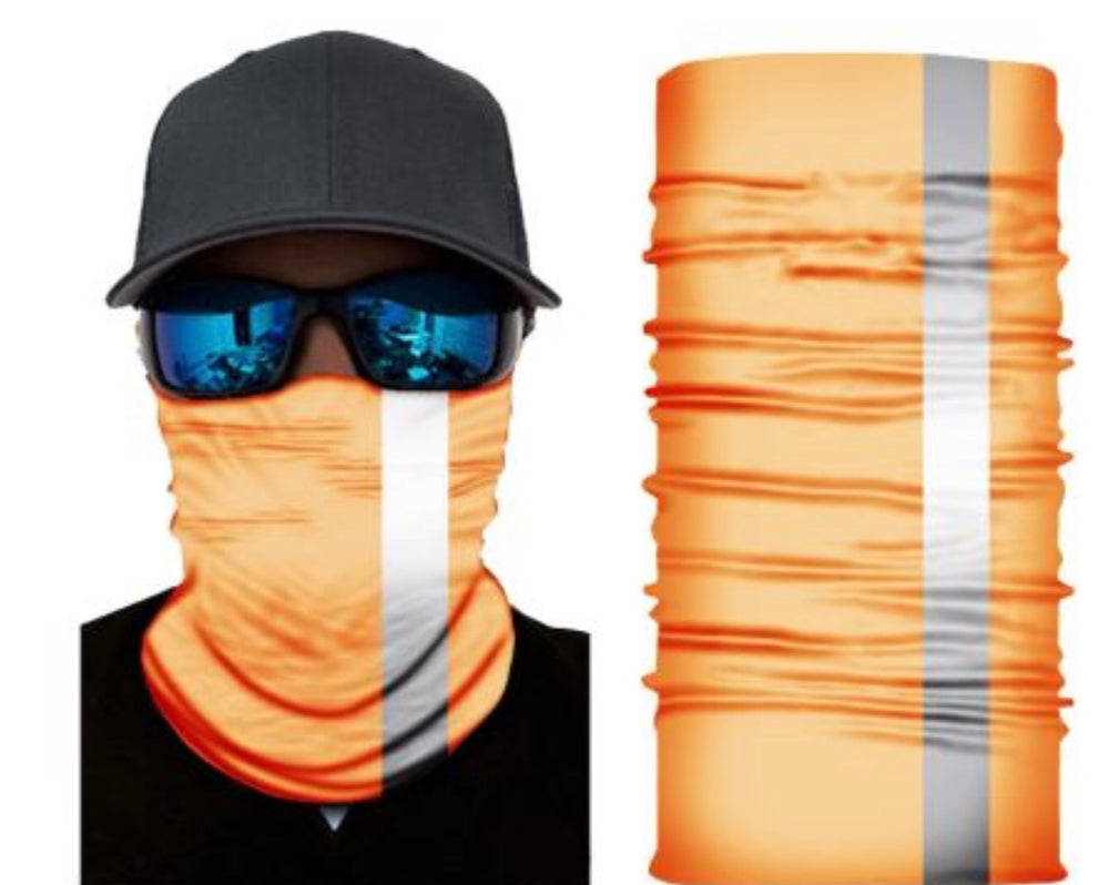 FSA Orange HI-VIS Face Shields