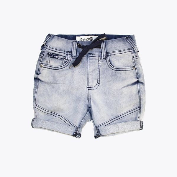 Riders jnr by Lee #Boys Denim Jogger Short - Dusty Indigo