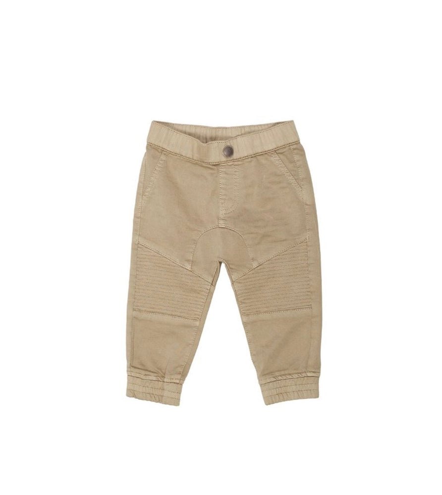 Animal Crackers Tucked Pant - Tan