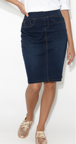 Ainsley Skirt - Midnight