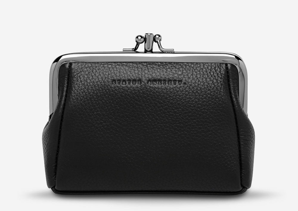 Status Anxiety Volatile Purse - Black