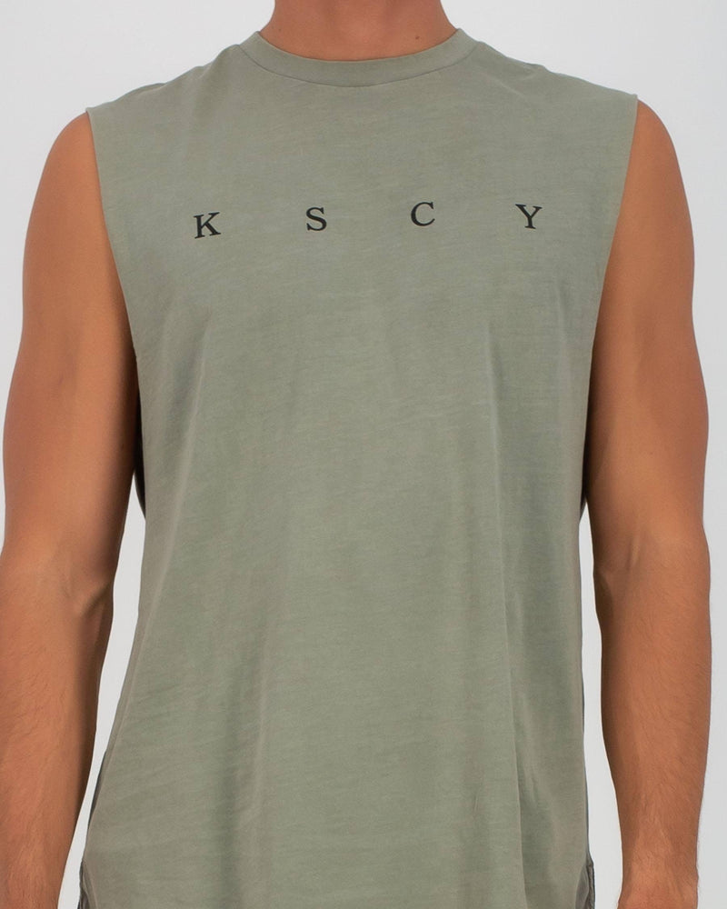 Kiss Chacey Apex Step Hem Muscle - Pigment Khaki