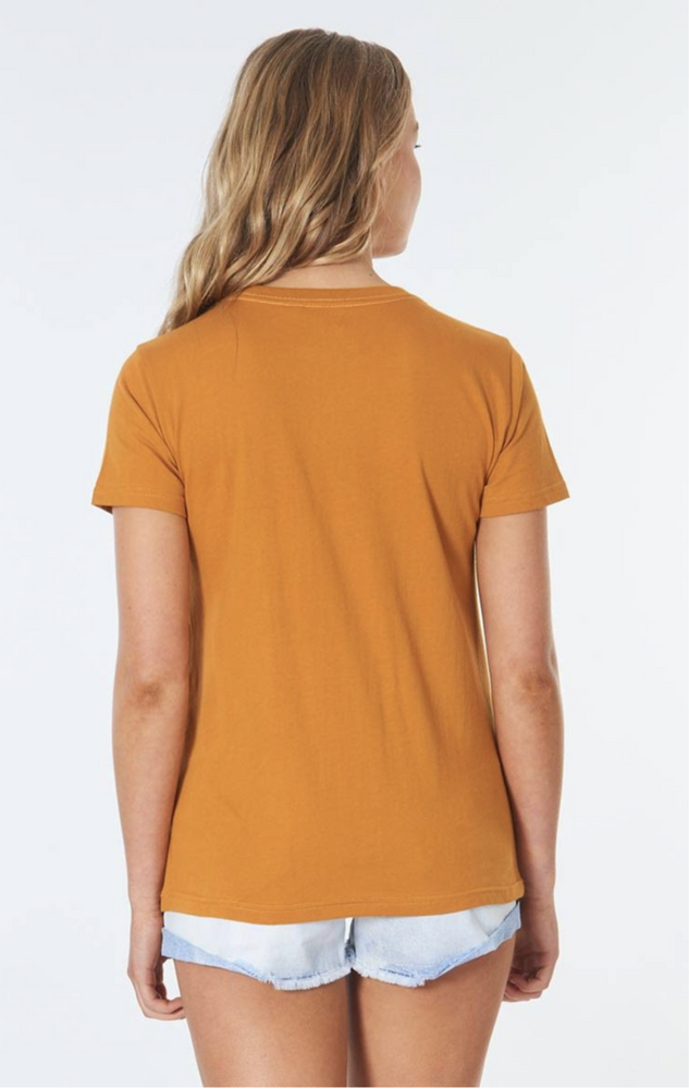 Rip Curl Surf Co Standard Tee - Honey