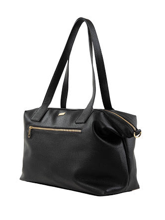 Rusty Azalea Weekender Bag - Black