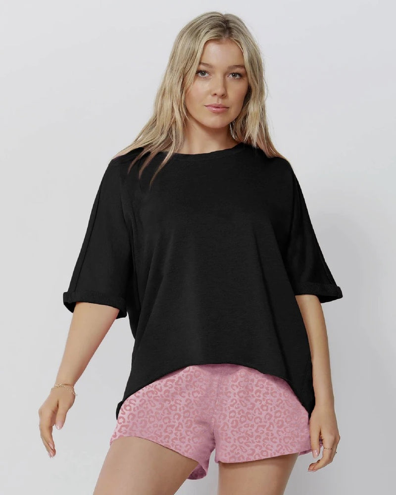 Betty Basics Chrissy Short - Ocelot Pink