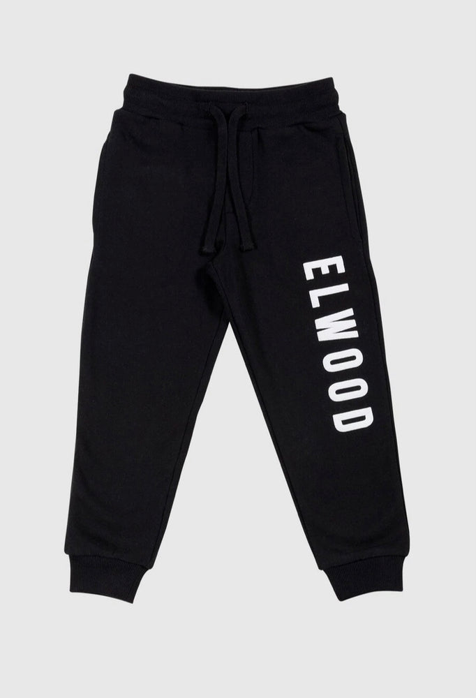 Elwood Boys Huff N Puff Trackpant - Black