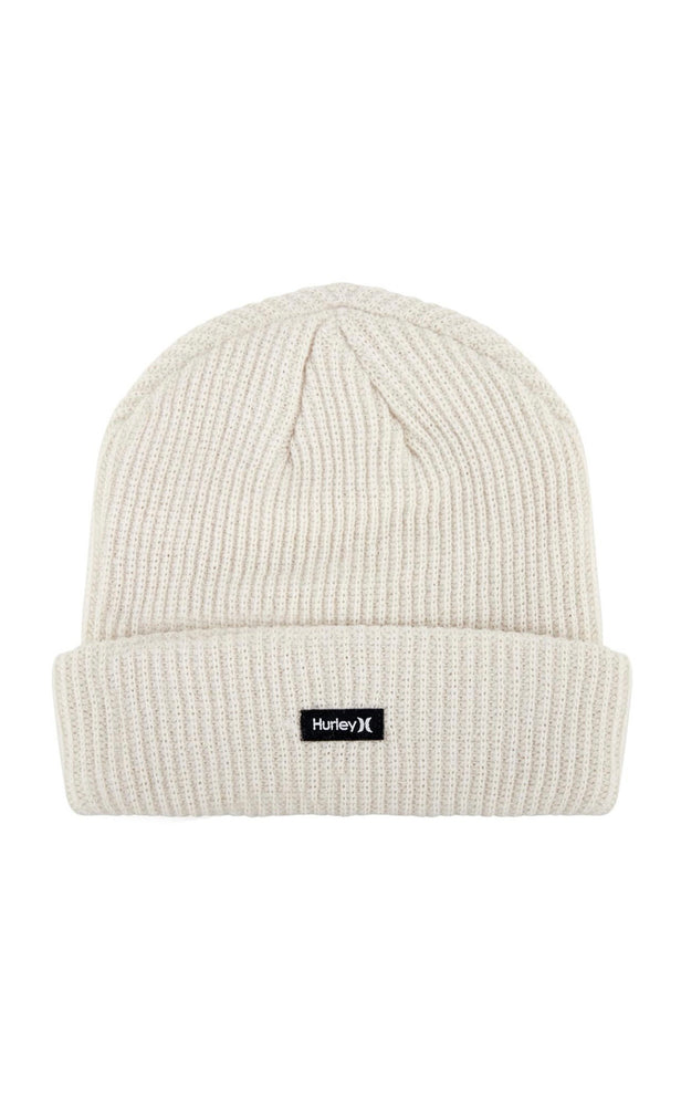 Hurley Patch Beanie - Cream