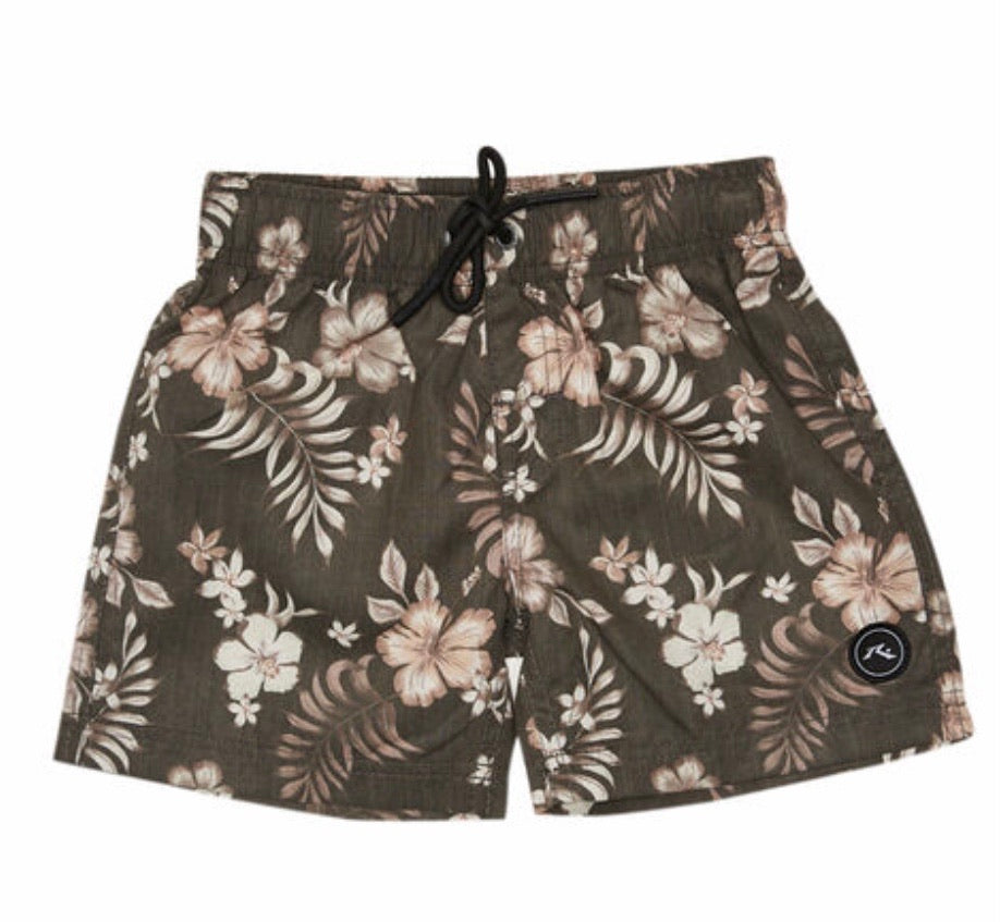 Rusty Mettams Elastic Boardshort Runts - Coal