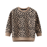 Cracked Soda Bella Leopard Crew