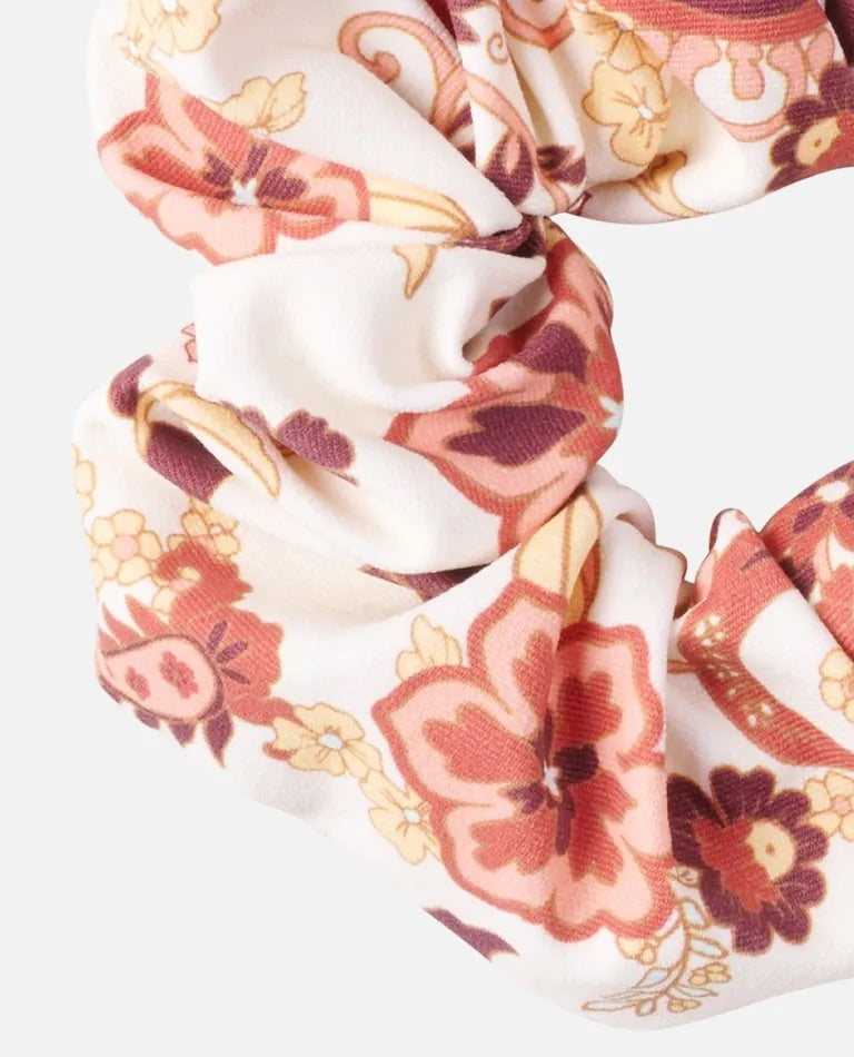 Rip Curl Dessert Dawn Scrunchie - Cream