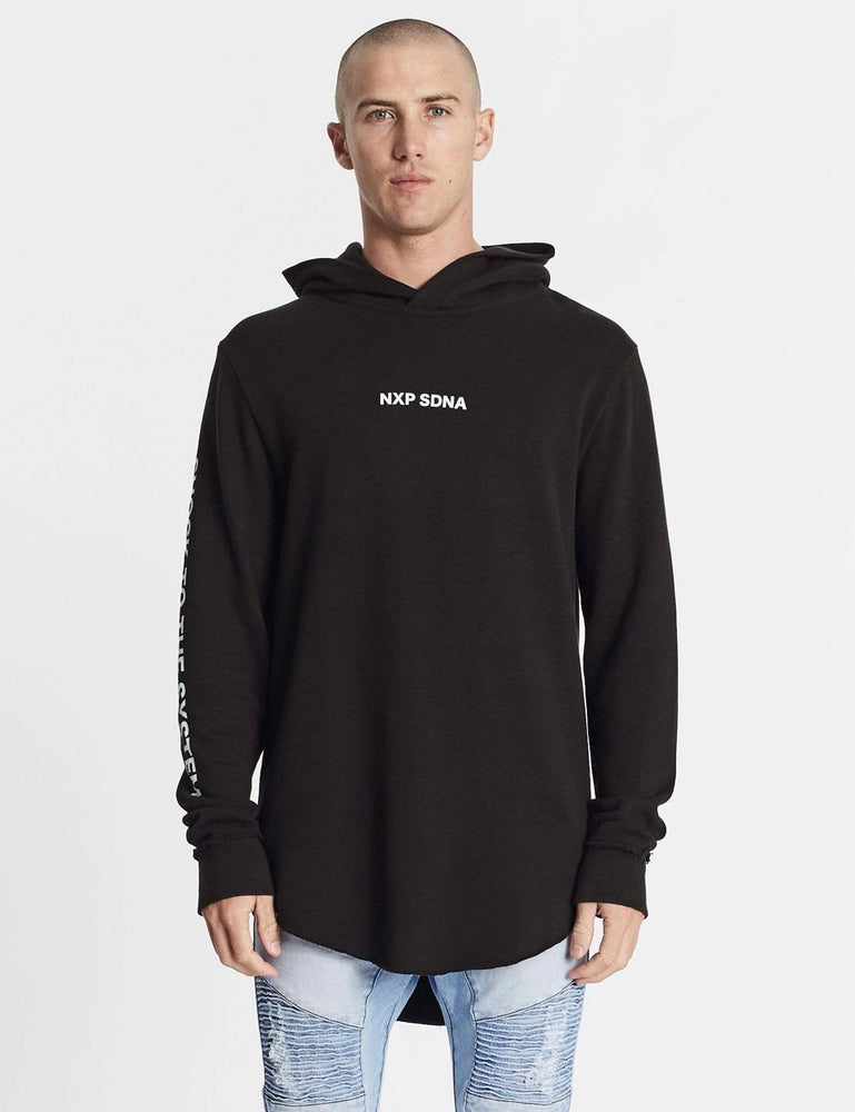 Nena & Pasadena Shock To The System Hooded Dual Curved Sweater